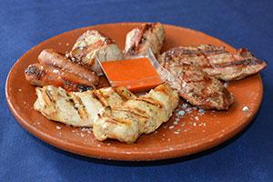 Restaurante Los Caballos Álora Málaga carne a la parrilla