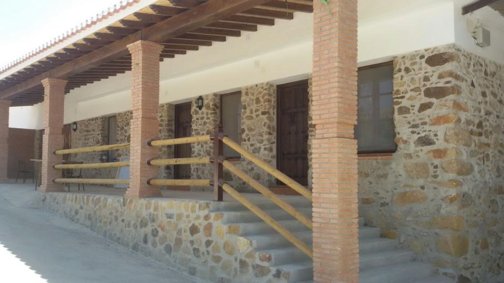 Restaurante Los Caballos Álora Málaga alojamiento Entrada posada los caballos