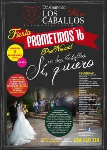 gala prometidos 2016 en restaurante los caballos malaga