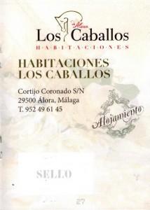Restaurante Los Caballos Álora Málaga organizar una boda pasaporte 3