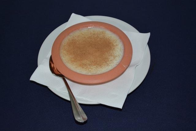 Restaurante Los Caballos Álora Málaga cocina tradicional arroz con leche