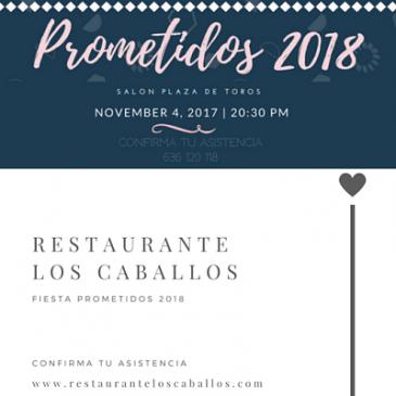 Gran fiesta Prometidos 2018