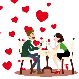 Cena San Valentín 2019