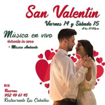 Cena San Valentín 2020